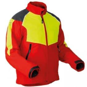 chaqueta con protección anticorte