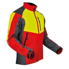chaqueta de ventilación